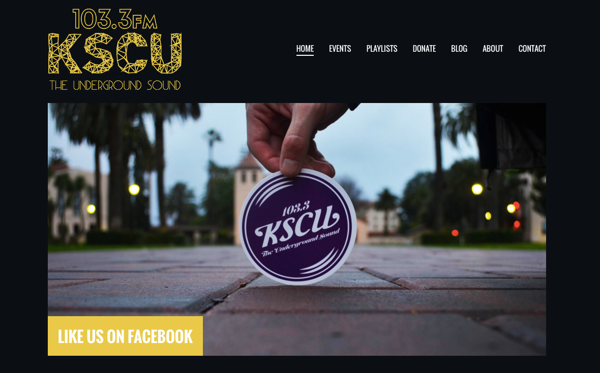 Large site image for KSCU Santa Clara