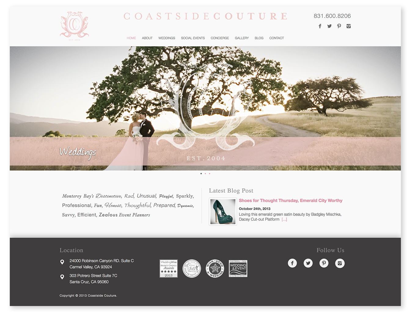 Large site image for Coastside Couture