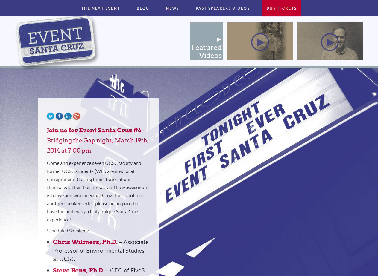 Large site image for Event Santa Cruz