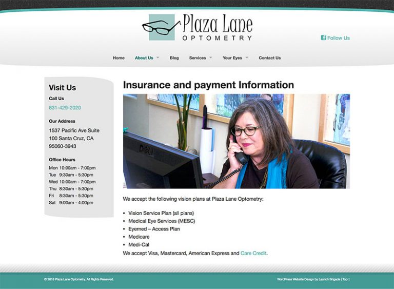 fullpage image #2 for  Plaza Lane Optometry